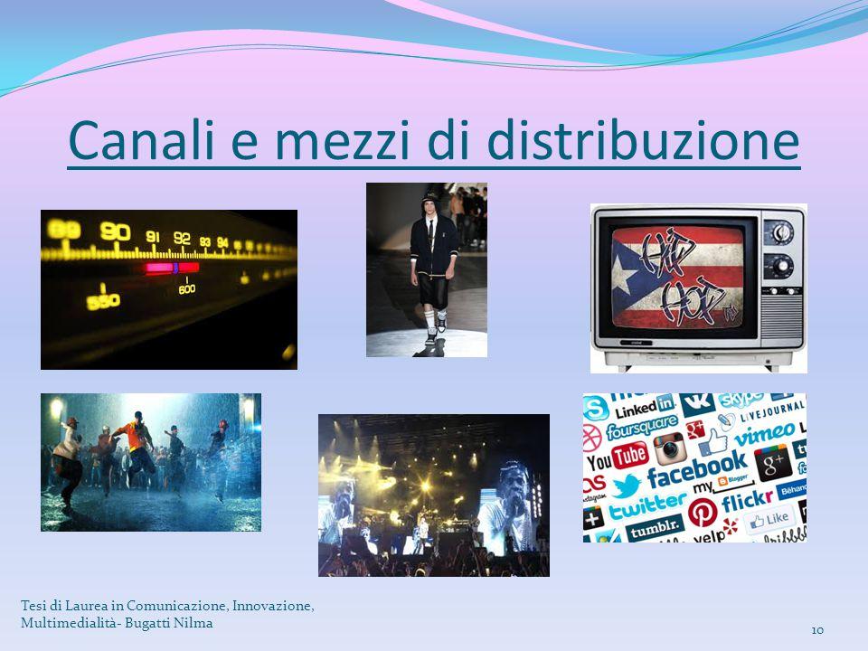 Canali e mezzi di distribuzione Tesi di Laurea in Comunicazione, Innovazione, Multimedialità- Bugatti Nilma 10