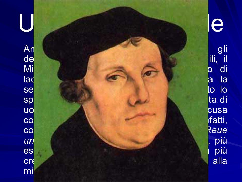 Un testo universale Amato visceralmente da Lutero che gli dedicherà pagine altissime e indimenticabili, il Miserere è stato il silenzioso compagno di