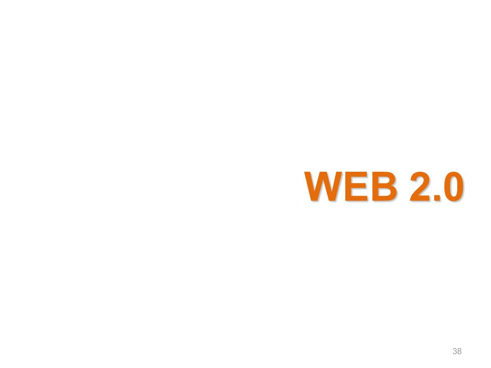 WEB 2.0 38