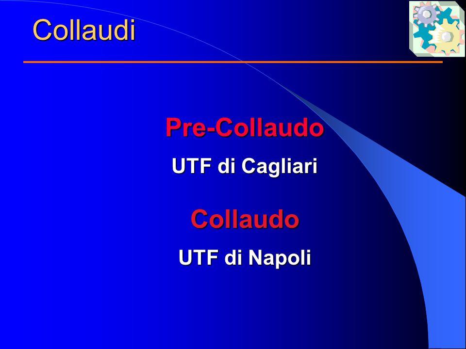 CollaudiPre-Collaudo UTF di Cagliari Collaudo UTF di Napoli
