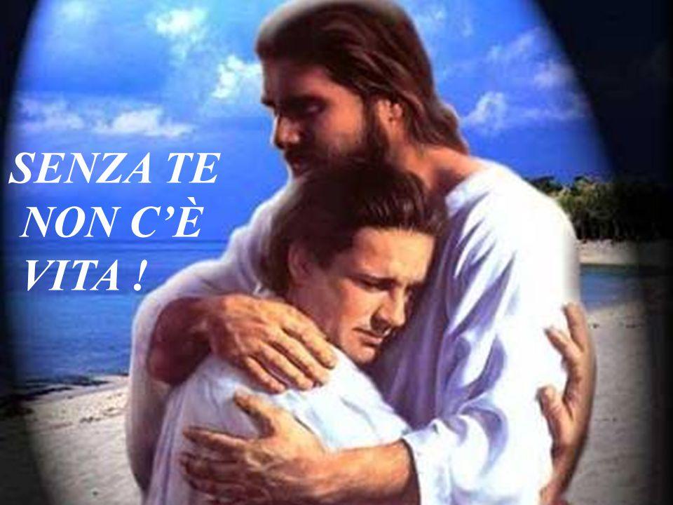 Ma Gesù disse loro: In tutta sincerità vi ripeto: se non vi lasciate nutrire e dissetare da Me, in voi NON C'È VITA.