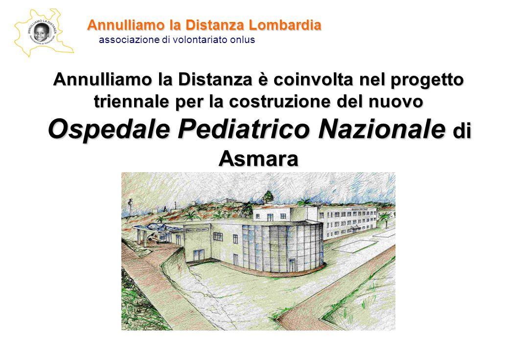 Annulliamo la Distanza Lombardia associazione di volontariato onlus Annulliamo la Distanza è coinvolta nel progetto triennale per la costruzione del n