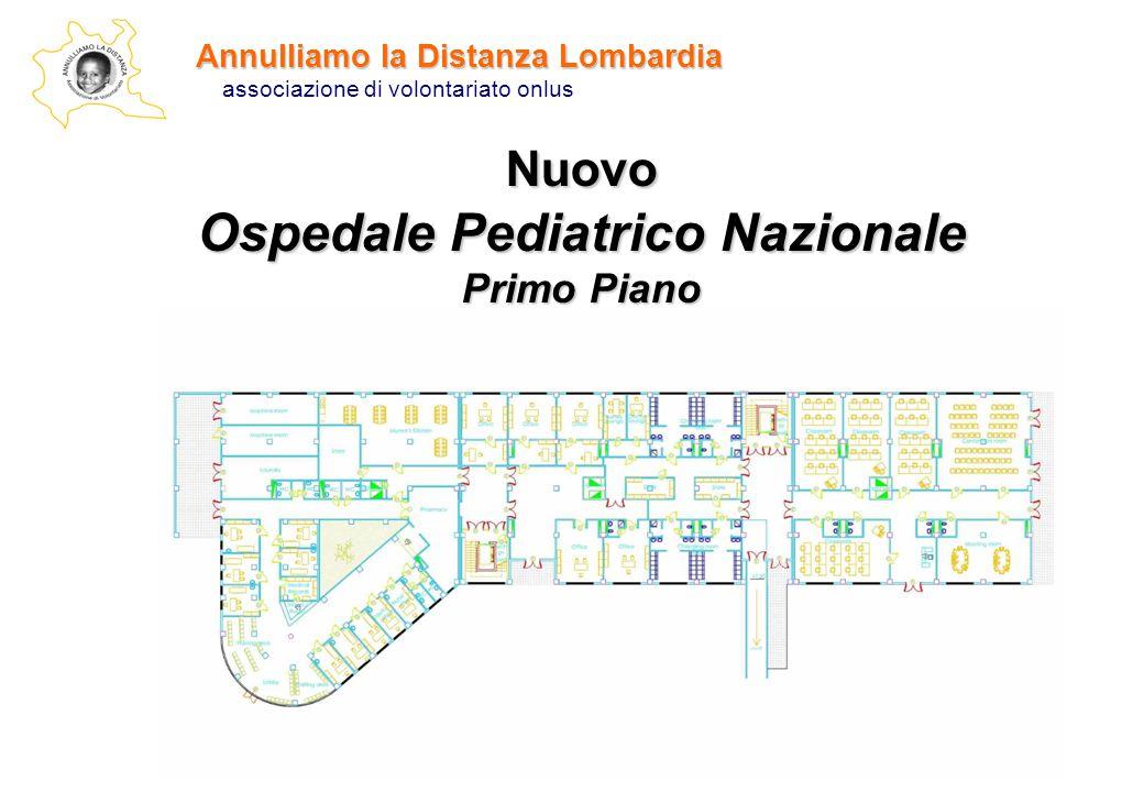 Annulliamo la Distanza Lombardia associazione di volontariato onlus Nuovo Ospedale Pediatrico Nazionale Primo Piano