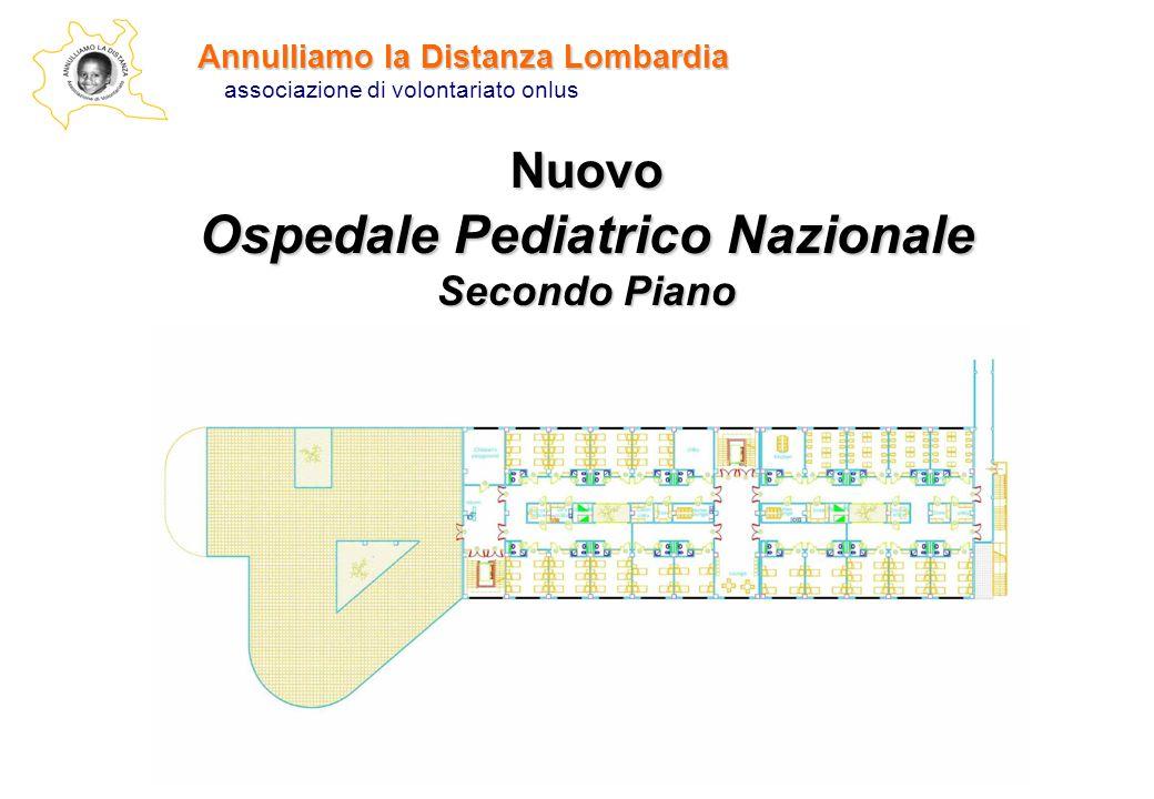 Annulliamo la Distanza Lombardia associazione di volontariato onlus Nuovo Ospedale Pediatrico Nazionale Secondo Piano