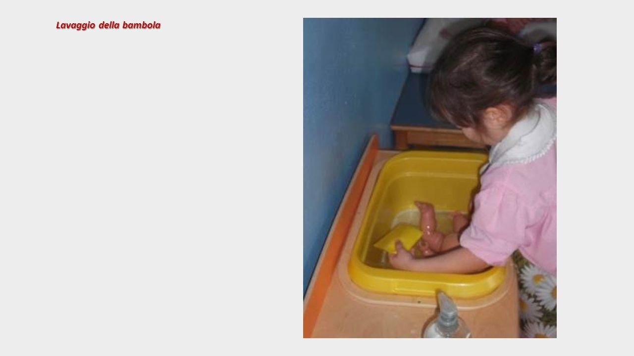 Lavaggio della bambola