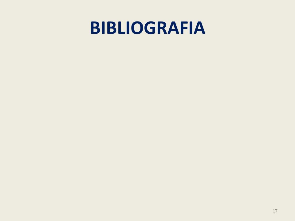 BIBLIOGRAFIA 17