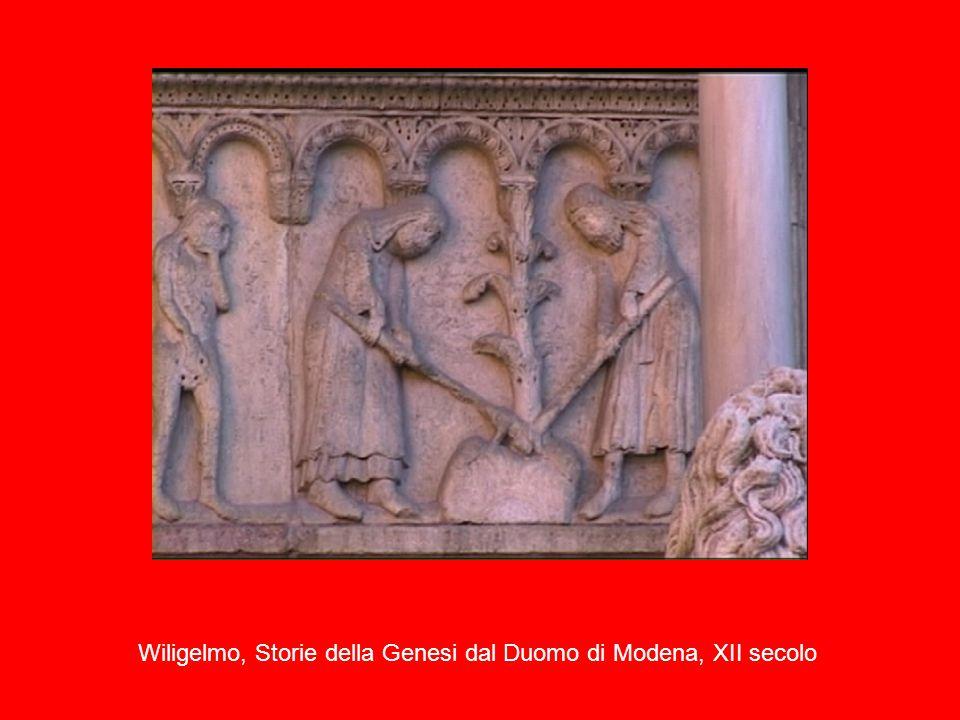Wiligelmo, Storie della Genesi dal Duomo di Modena, XII secolo