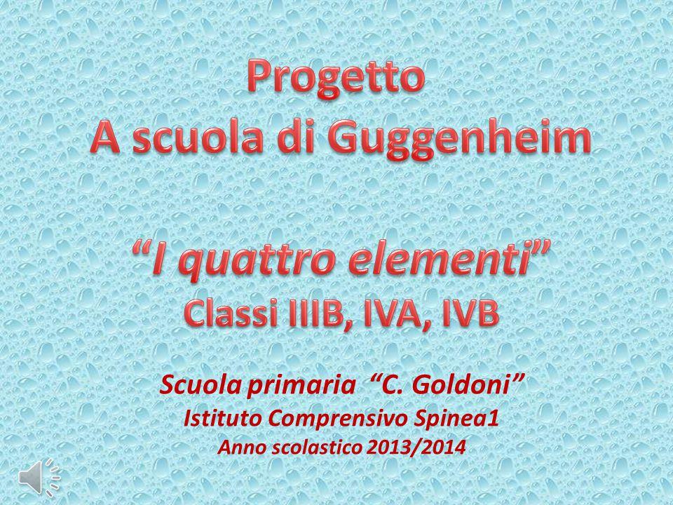 Scuola primaria C. Goldoni Istituto Comprensivo Spinea1 Anno scolastico 2013/2014