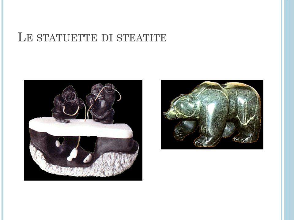 L E STATUETTE DI STEATITE