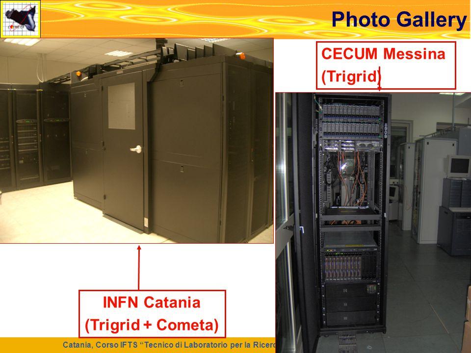 """Catania, Corso IFTS """"Tecnico di Laboratorio per la Ricerca e l'Innovazione Informatica"""", 7 Maggio 2008 33 Photo Gallery INFN Catania (Trigrid + Cometa"""