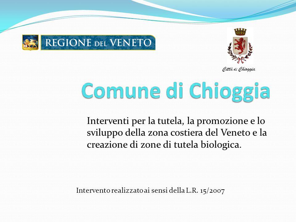 Interventi per la tutela, la promozione e lo sviluppo della zona costiera del Veneto e la creazione di zone di tutela biologica. Intervento realizzato