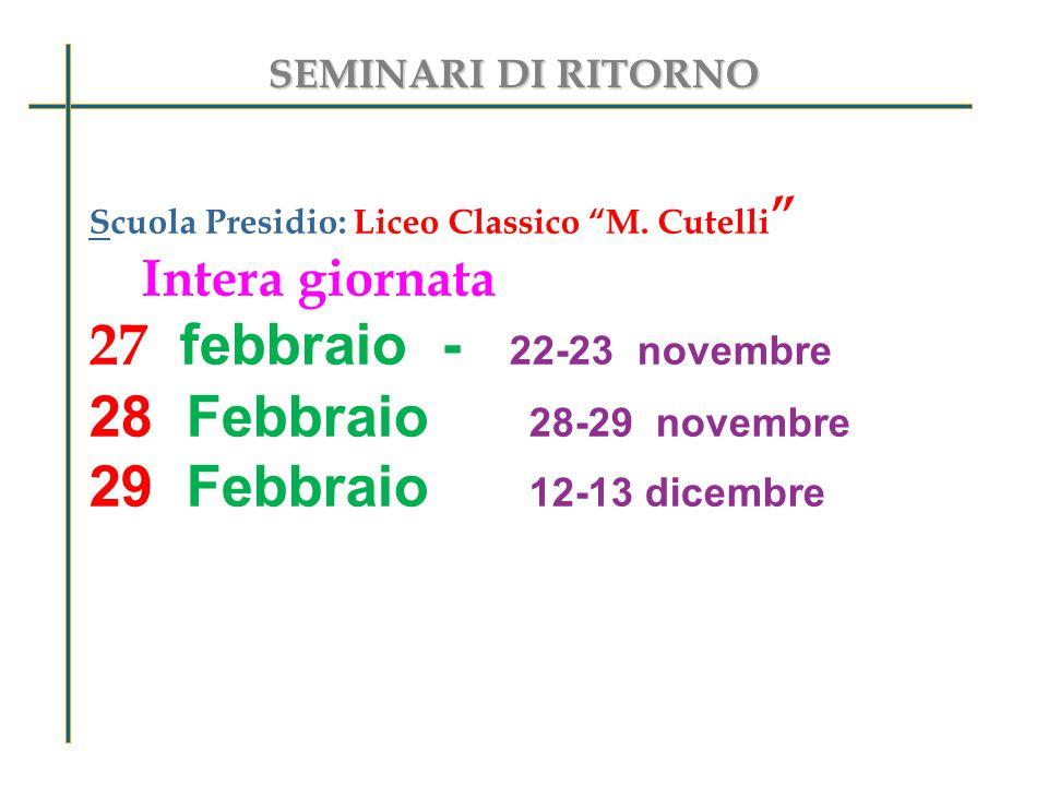 Scuola Presidio: Liceo Classico M.
