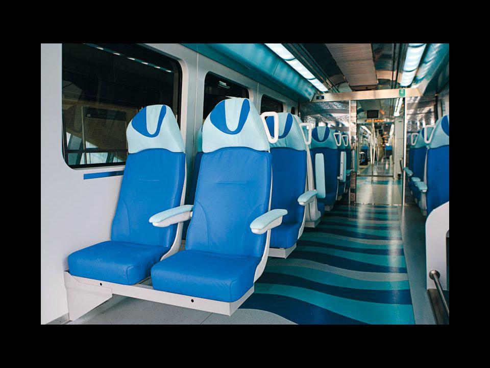 Ma la ferrovia ha anche la sua peculiarità: è una delle più moderne al mondo, opera solo con energia elettrica ed è completamente automatica, dal mome