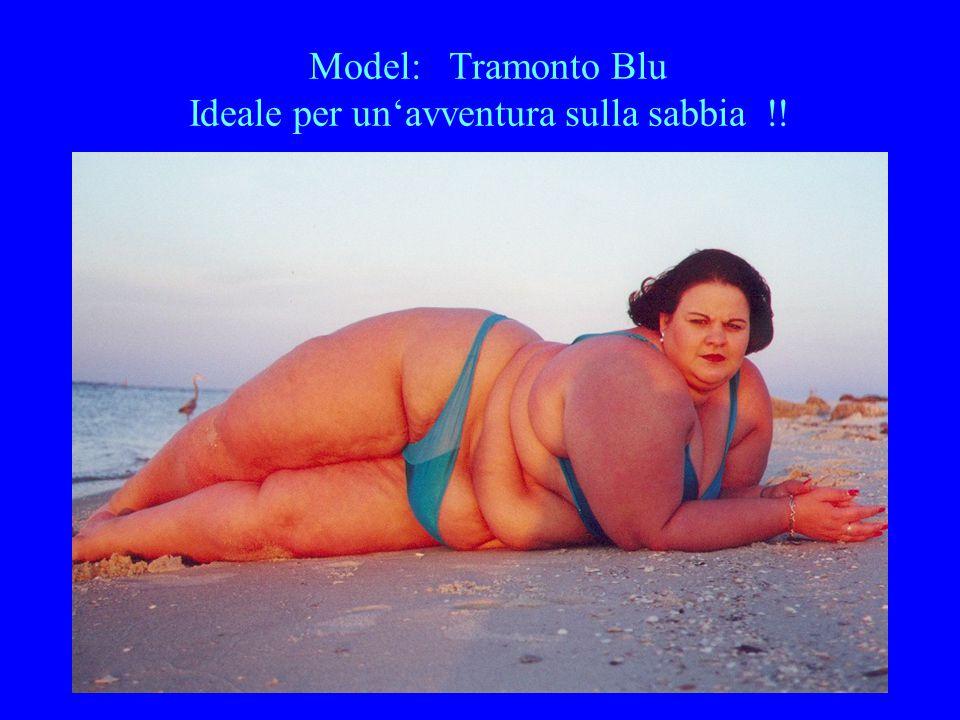 Model: Tramonto Blu Ideale per un'avventura sulla sabbia !!