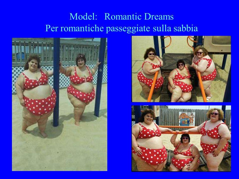 Model: Romantic Dreams Per sentirvi leggiadre coccinelle in bikini