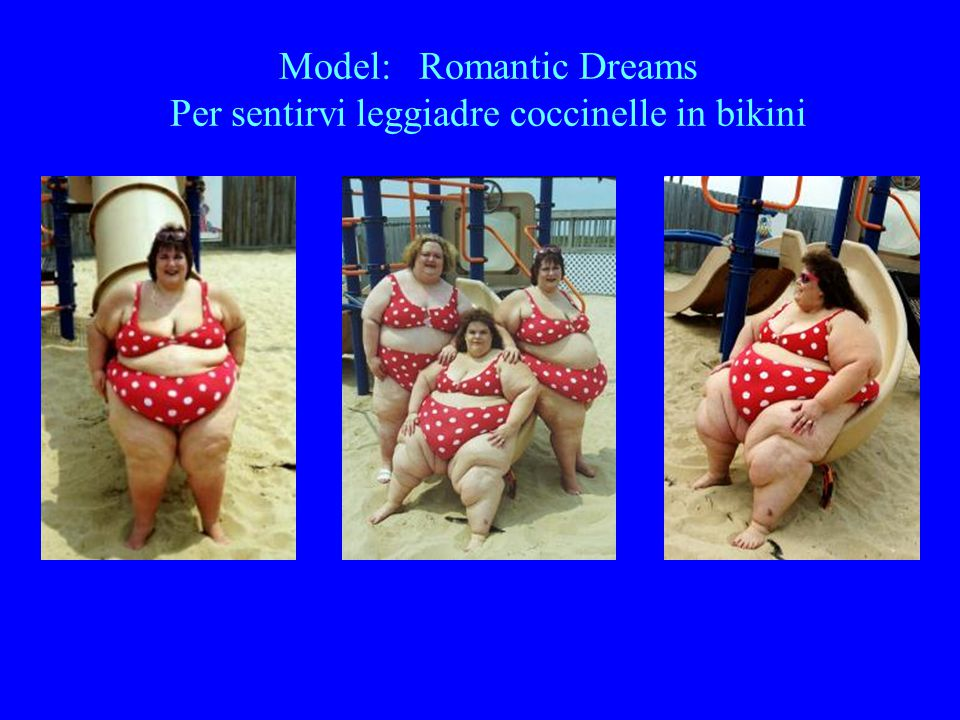 Model: Romantic Dreams Per sentirvi leggiadre coccinelle in bikini
