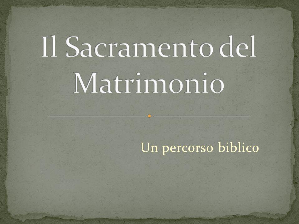 Un percorso biblico