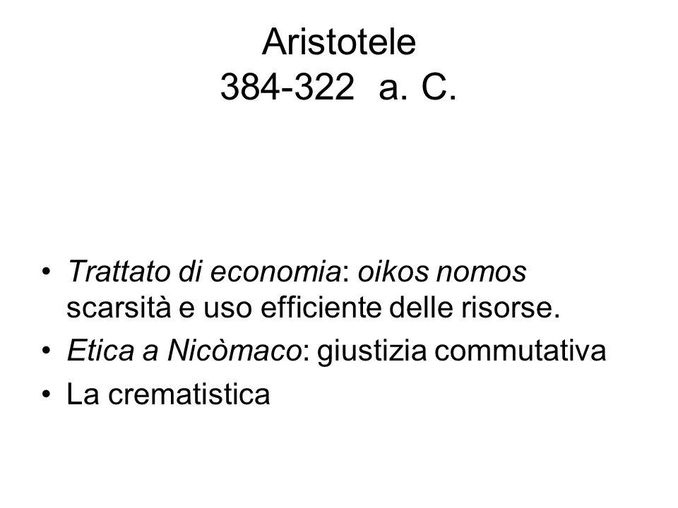 Aristotele 384-322 a. C.