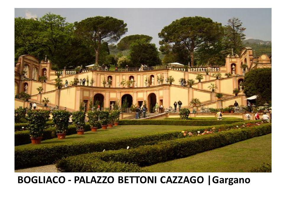 BOGLIACO - PALAZZO BETTONI CAZZAGO |Gargano