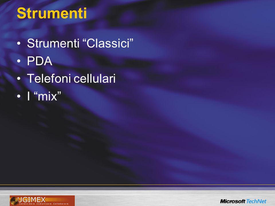 "Strumenti Strumenti ""Classici"" PDA Telefoni cellulari I ""mix"""