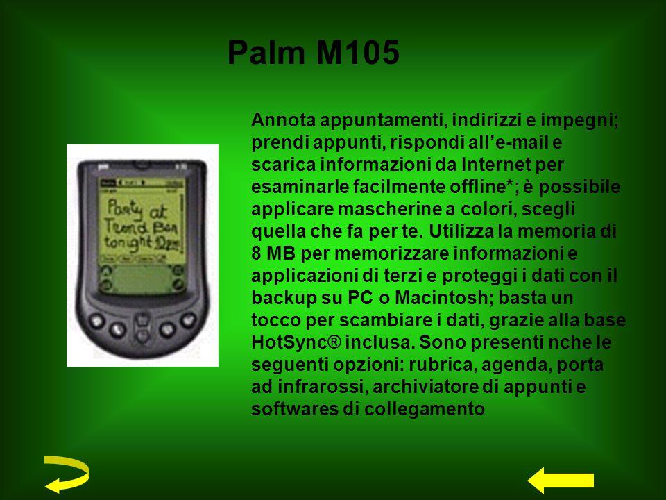 Disponibile ora nel mercato il TRIUM MONDO della MITSUBISHI, in cui convergono la tecnologia di un organizer palmare ed un cellulare.