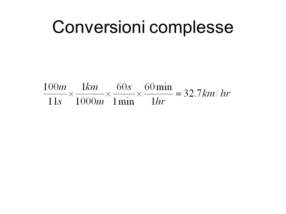Conversioni complesse