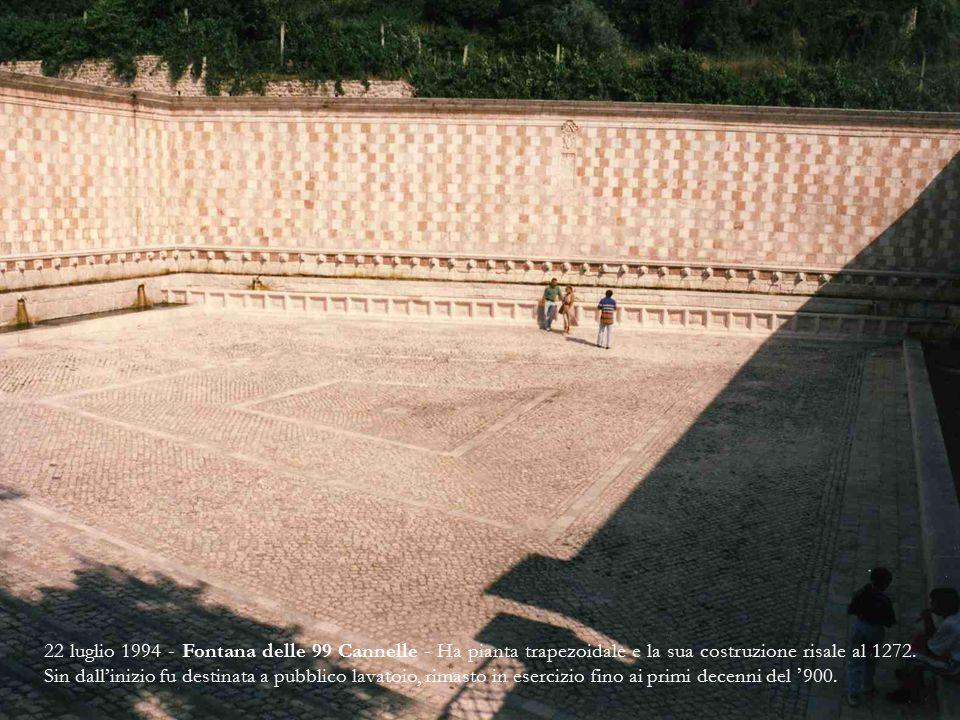 22 luglio 1994 - Portale centrale di s.