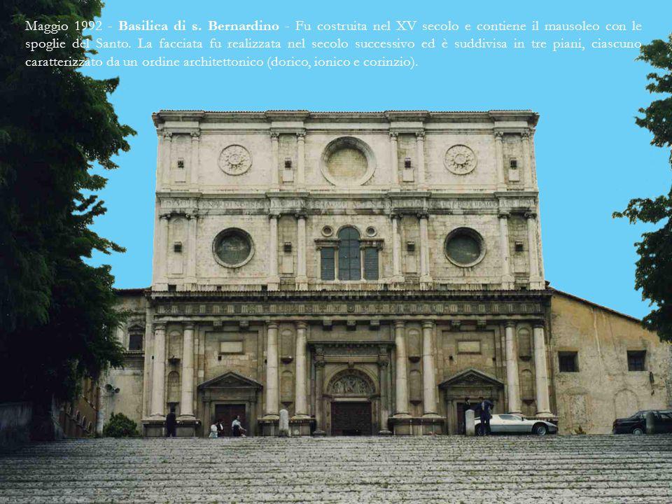 Maggio 1992 - Forte Spagnolo - Fu fatto costruire dagli occupanti Spagnoli tra il 1530 e il 1567.