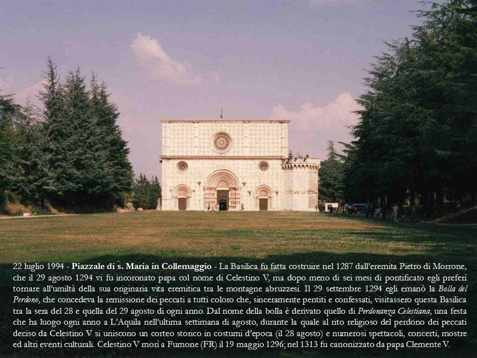 Maggio 1992 - Basilica di s.