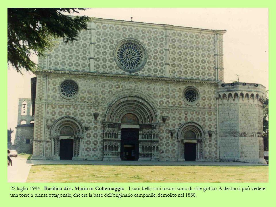 22 luglio 1994 - Piazzale di s.