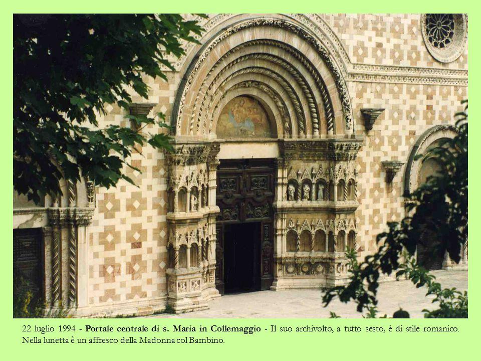 22 luglio 1994 - Basilica di s.