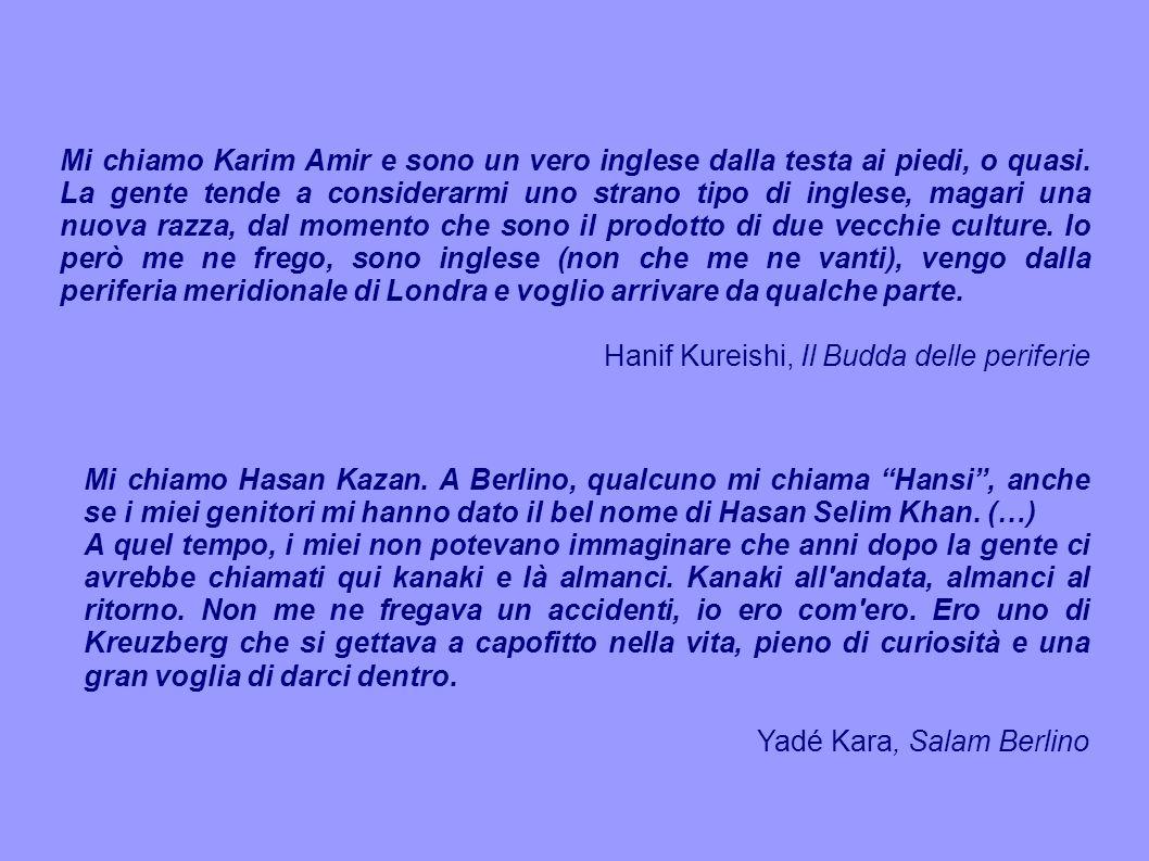 Mi chiamo Karim Amir e sono un vero inglese dalla testa ai piedi, o quasi. La gente tende a considerarmi uno strano tipo di inglese, magari una nuova