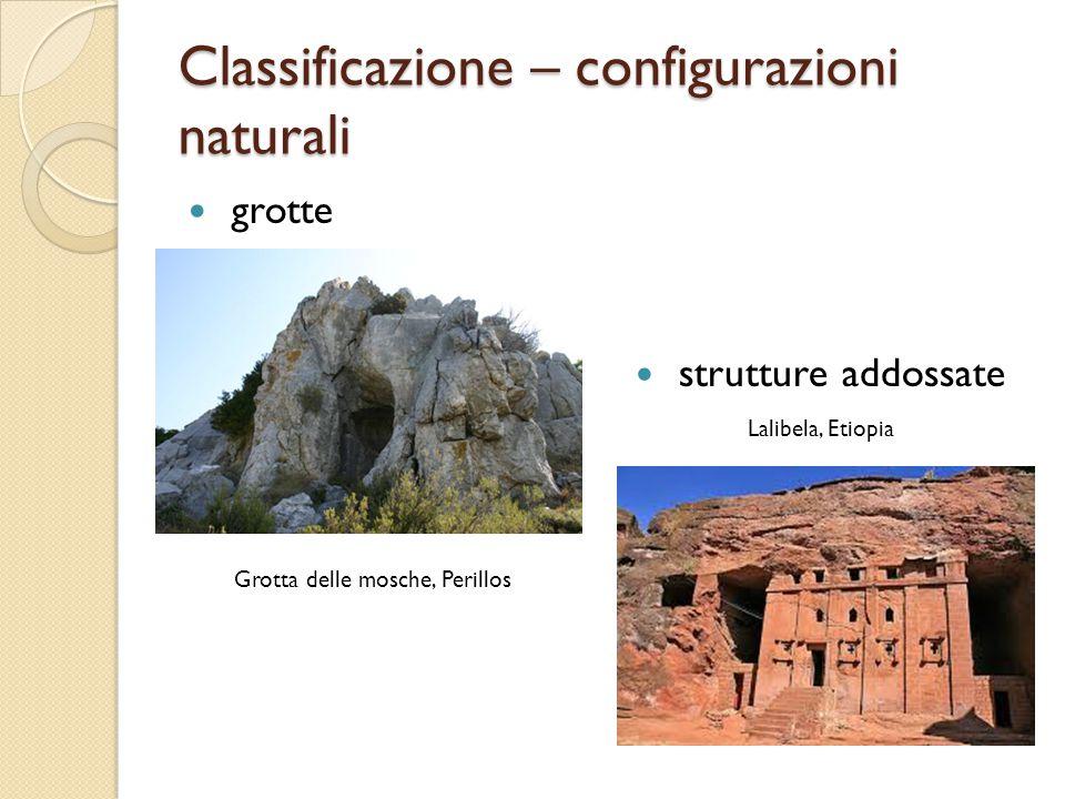 Classificazione – configurazioni naturali grotte strutture addossate Grotta delle mosche, Perillos Lalibela, Etiopia