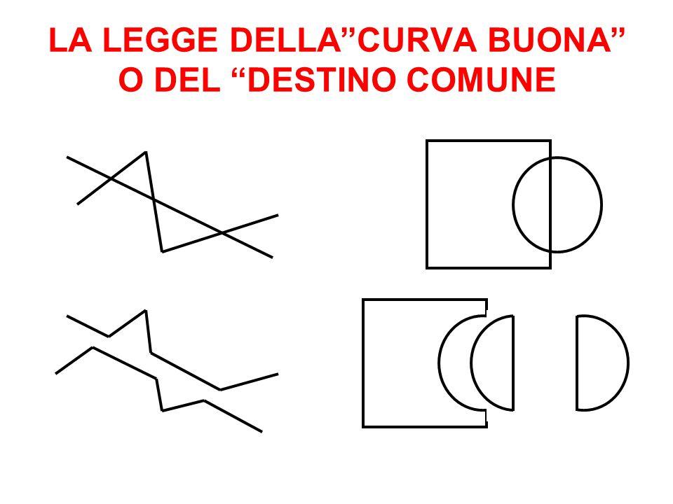 """LA LEGGE DELLA""""CURVA BUONA"""" O DEL """"DESTINO COMUNE"""