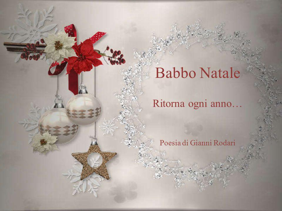 Babbo Natale Ritorna ogni anno… Poesia di Gianni Rodari