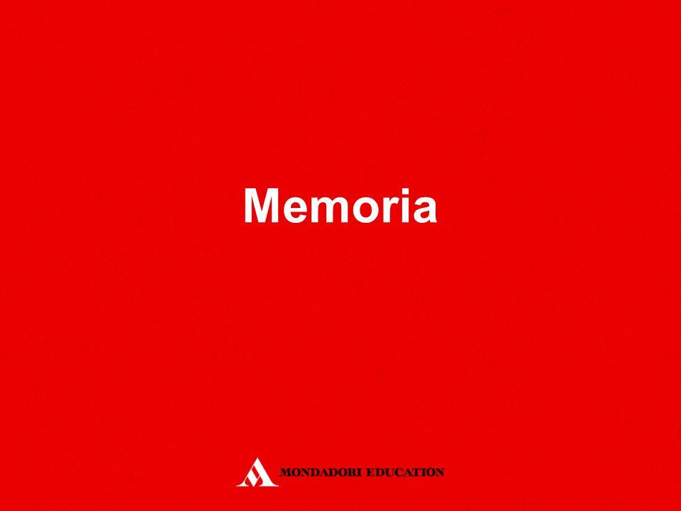La struttura dei processi di memoria Modello di base di plurimemoria Memoria a Breve Termine Memoria a Lungo Termine Registri Sensoriali