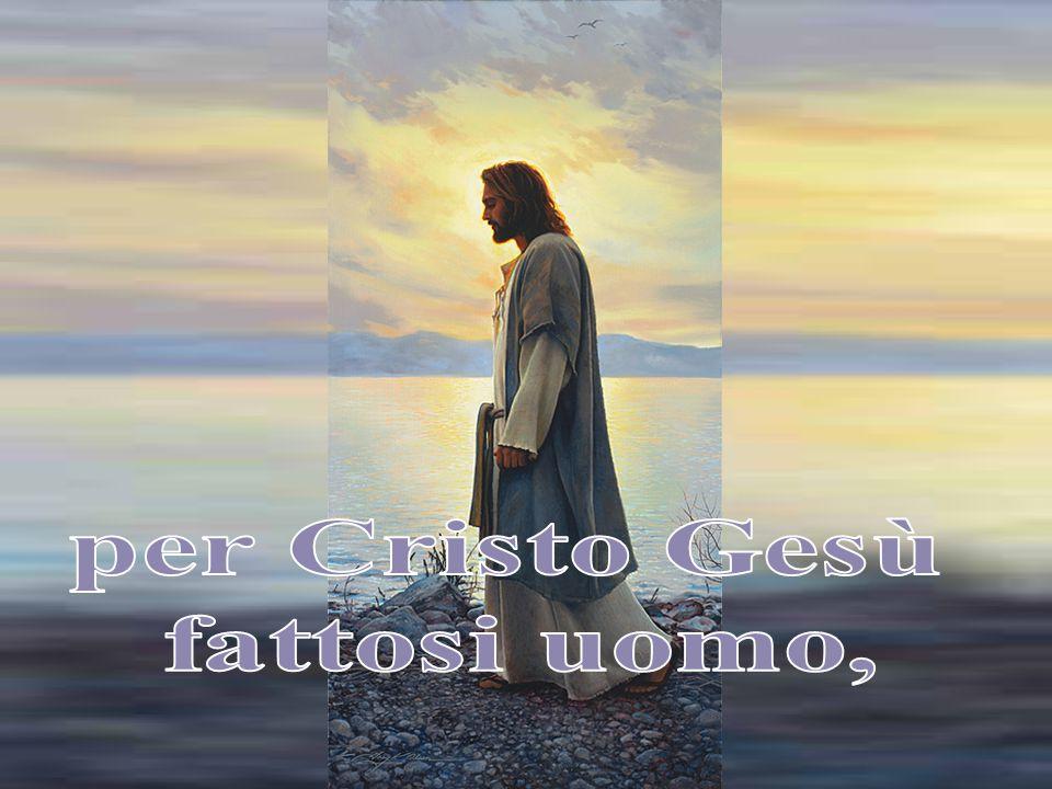 In segno di sofferto perdono,