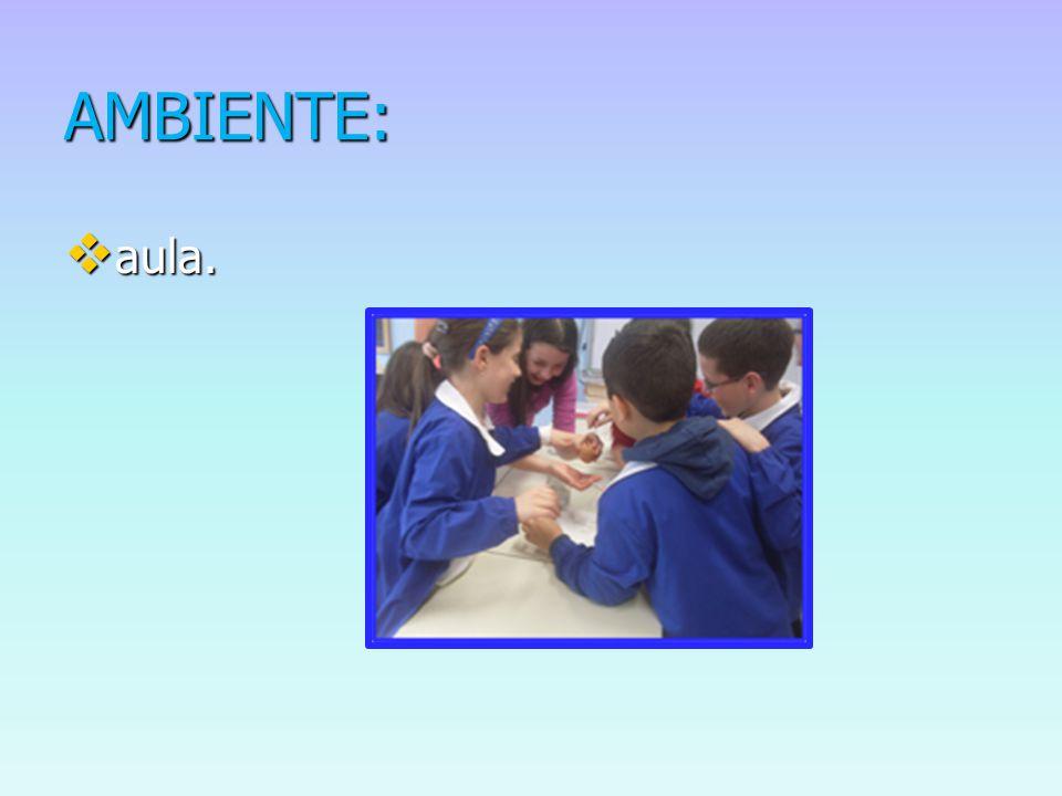AMBIENTE:  aula.