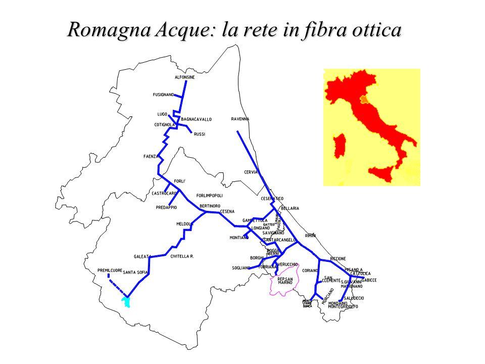 Romagna Acque: la rete in fibra ottica