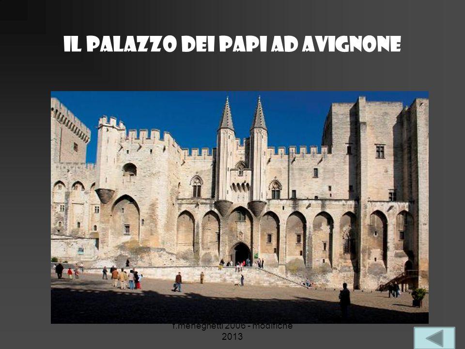Il palazzo dei papi ad avignone f.meneghetti 2006 - modifiche 2013