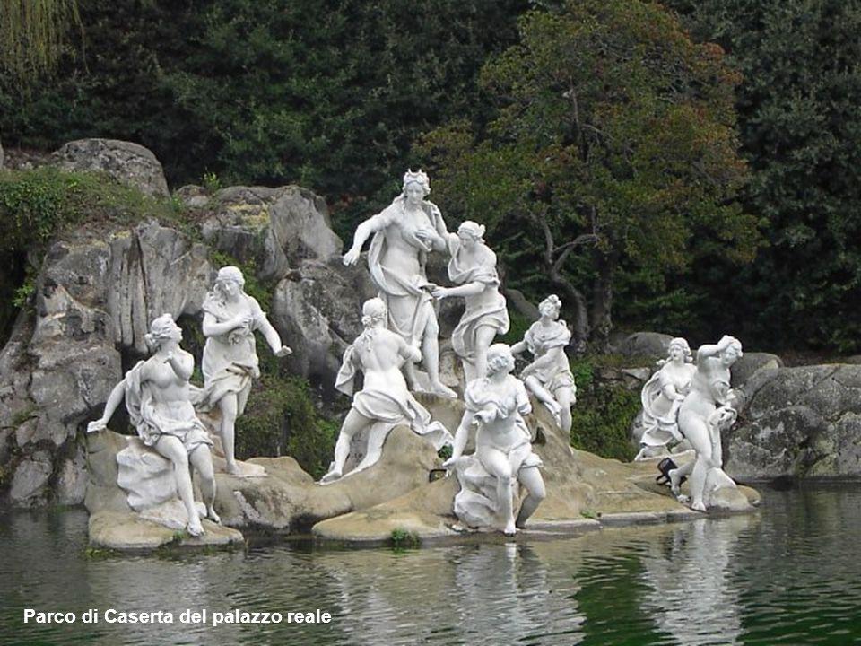 Parco di Caserta del palazzo reale