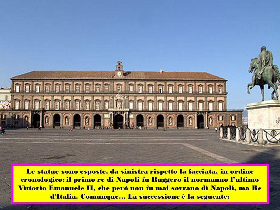 Nel 1888 re Umberto I di Savoia, fece apportare modifiche alla facciata della reggia.