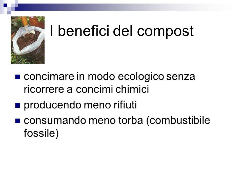 Cos'è il compostaggio Il compostaggio dei rifiuti organici della cucina e dell orto è la soluzione più naturale per smaltire i rifiuti organici e produrre al tempo stesso dell ottimo humus da restituire alla terra