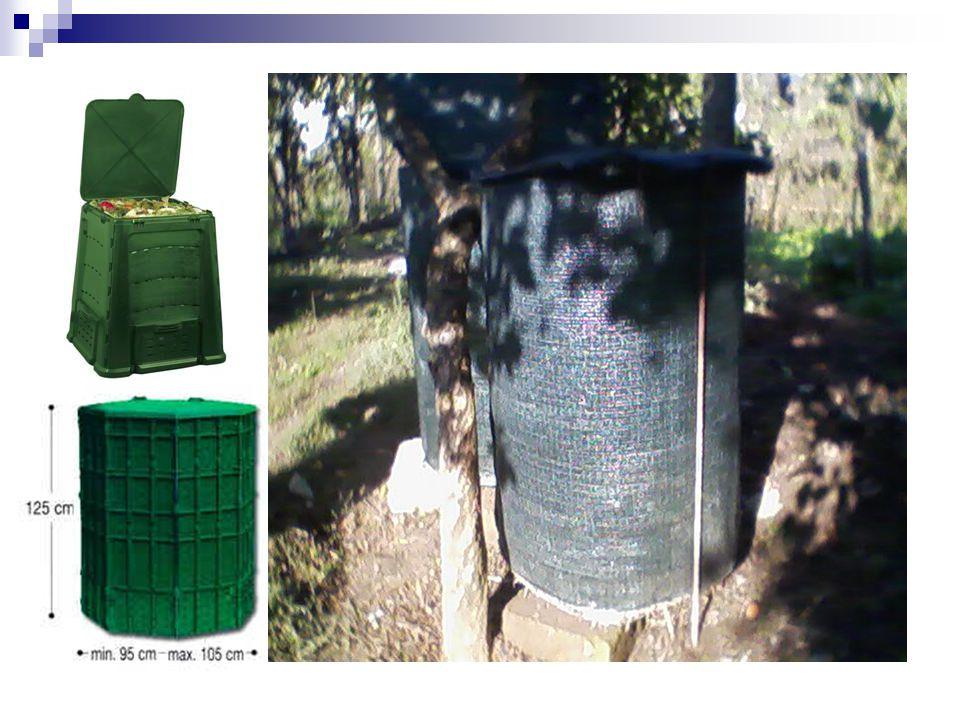 Per ottenere un compost Dove fare il composto Sminuzzare i materiali Coprire il composto Aiutare i microrganismi Rimescolare il composto