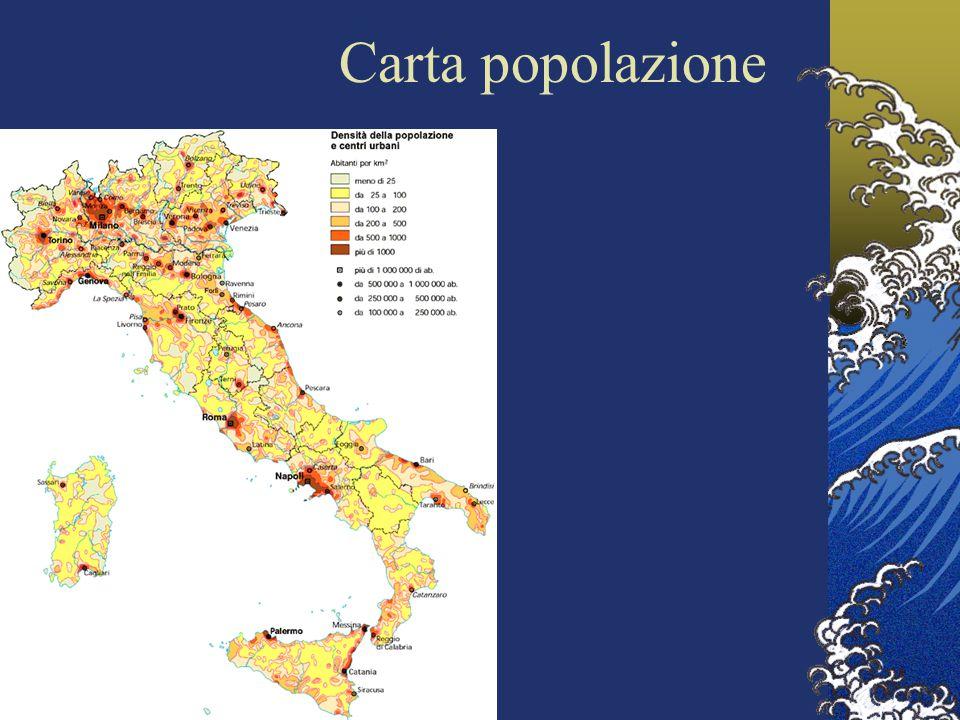 Carta popolazione