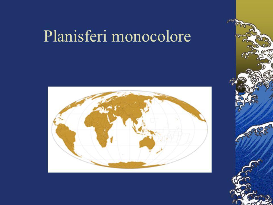 Planisferi monocolore