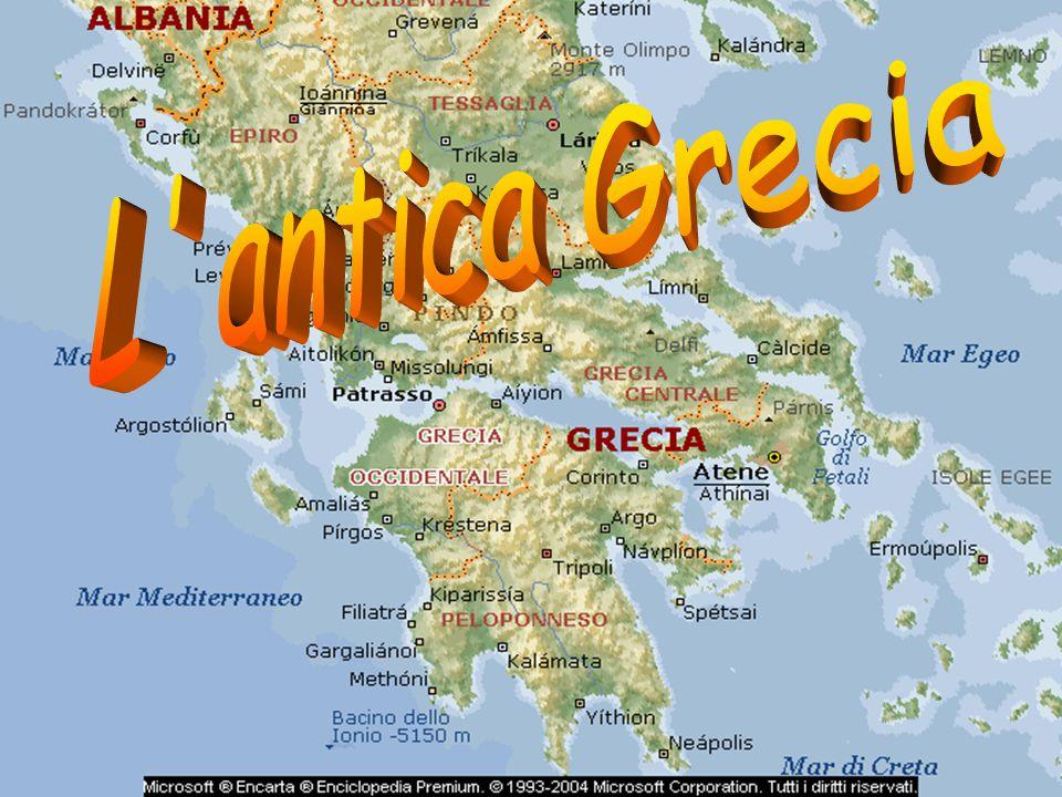 I Greci vissero nel v secolo a.C.; abitavano in Grecia, sulle isole del mar Egeo e nelle colonie, sulle sponde del Mar Nero, sulle coste dell'Asia minore e del Peloponneso.