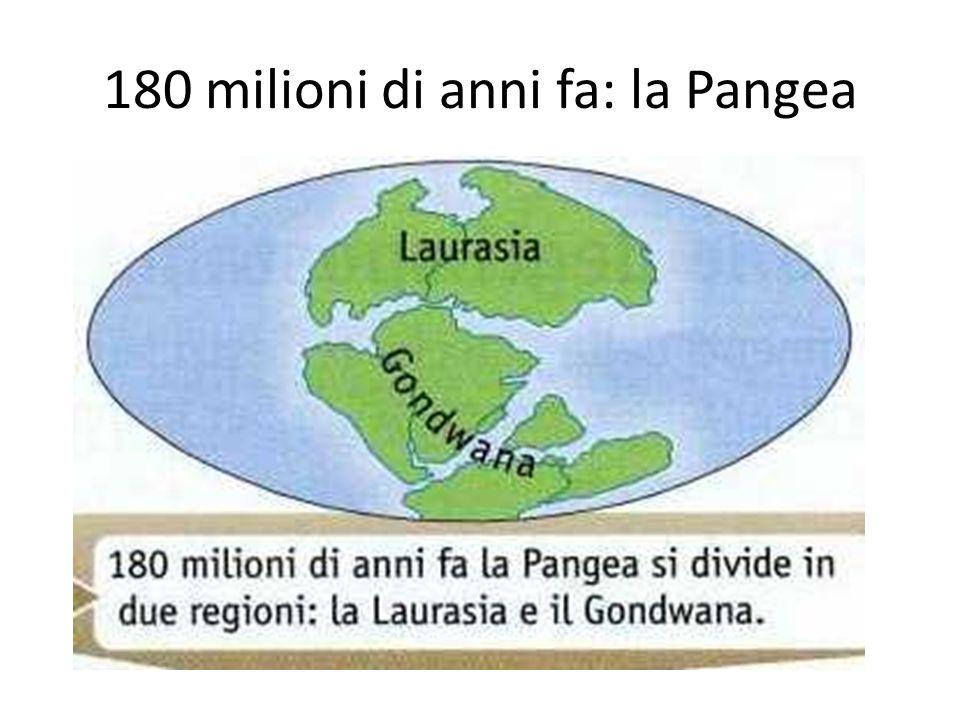 180 milioni di anni fa: la Pangea
