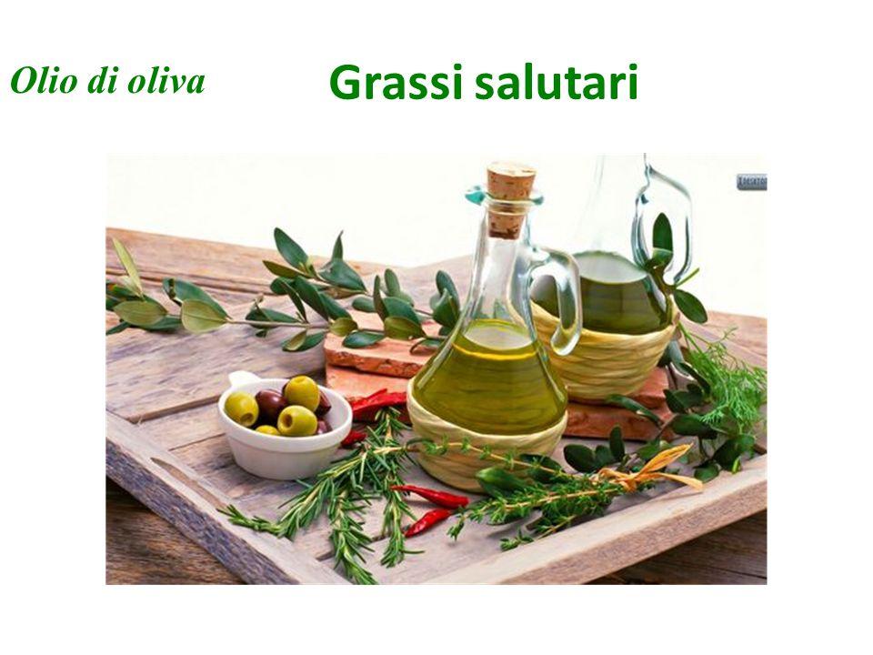 Grassi salutari Olio di oliva