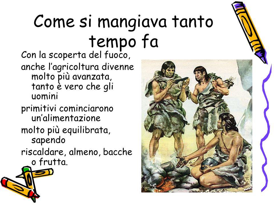 La tradizione gastronomica in Europa L'uomo ha subito tante carestie; con le invasioni dei Barbari, la gastronomia cambiò.
